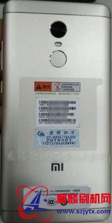 红米note4x 网标2016101线刷机包可解账户锁