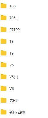 长虹T8_9_V5_V6_H7_106_705等型号刷机固件包下载