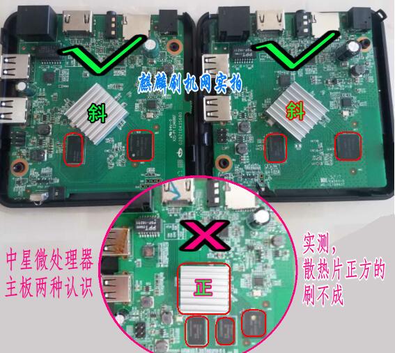 {麒麟课堂}关于中星微zx296716盒子线刷方法及降级打开adb教程